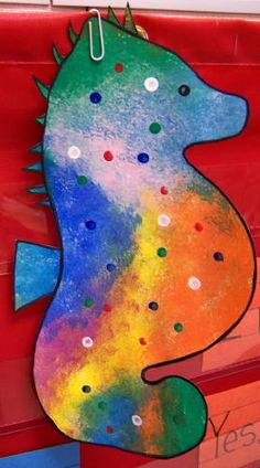 Mr. Seahorse art and other ideas