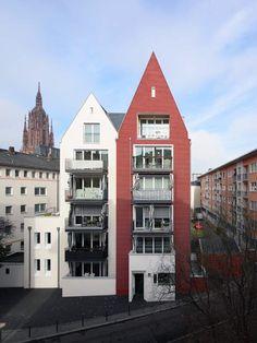 Wohnen am Dom, Frankfurt am Main,  Prof. Christoph Mäckler