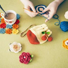 zakka collection [雑貨コレクション]|はじめてさんとこまったさんのかぎ針編み「きほんのき」レッスンの会(6回限定コレクション)|フェリシモ
