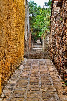 Passageway, San Miguel de Allende, Guanajuato, Mexico by Reskiebak