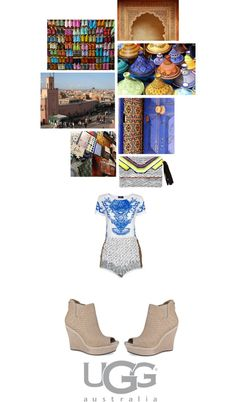 """ugg in marrakech"" by fairysophie ❤ liked on Polyvore"