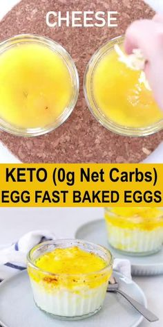 Easy baked eggs in ramekins is a recipe perfect for a keto egg fast. Just layer the ingredients and bake in the oven. Easy baked eggs in ramekins is a recipe perfect for a keto egg fast. Just layer the ingredients and bake in the oven. Eggfast Recipes, Low Carb Recipes, Lunch Recipes, Egg Diet Plan, Keto Meal Plan, Keto Egg Recipe, Keto Egg Fast, Fast Easy Meals, Low Carb Breakfast