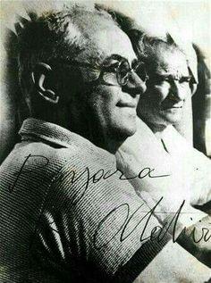 Atatürk ve  Celal Bayar, 1937