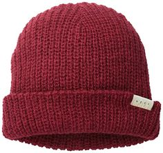 8b32c1f5 Neff Womens Brie Textured Beanie Maroon One Size -- Check out this great  product.(This is an Amazon affiliate link and I receive a commission for  the sales)