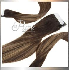 Dark Brown To Caramel Blonde Ombre Balyage Chocolate Brown To Light Caramel Brown Balayage Black And Blonde Ombre, Brown Ombre Hair, Invisible Hair Extensions, Tape In Hair Extensions, Balayage Ombré, Brown Balayage, Light Ash Brown Hair, Dark Brown, Best Ombre Hair