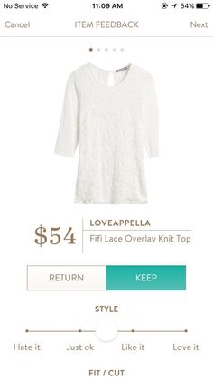 Loveapella Fifi Lace Overlay Knit Top - PERFECT for family pictures. A blue-red would work too!