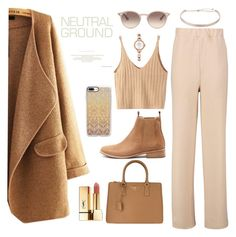 """ItsV #103"" by itsrealvyvy ❤ liked on Polyvore featuring Boohoo, Mollini, WithChic, Prada, Yves Saint Laurent, Casetify, Miss Selfridge, Ray-Ban and Swarovski"