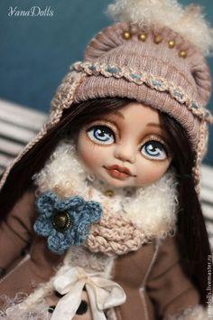 Полина - бежевый,кукла,кукла ручной работы,кукла в подарок,кукла интерьерная