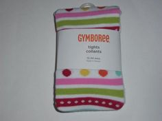 NWT Gymboree Cozy Cutie Striped Tights 12-24 Months Free Shipping