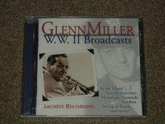 GLENN MILLER W.W.II Broadcasts Archive Recordings (CD, Music, Jazz, Big Band)  #BigBandSwing