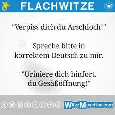 Flachwitze #223 - Korrekt deutsch Fluchen