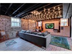 semi finished basement ideas - Google Search
