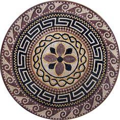 greco roman medallion u2013 athena - Ancient Rome Designs