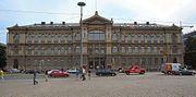 Theodor Höijerin suunnittelema Ateneumin taidemuseo (uusrenessanssi)