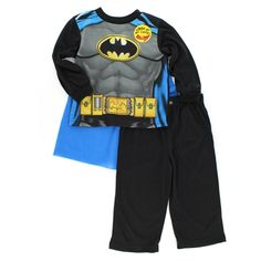 629c8d746 Batman Toddler Boys Pajamas Set with Cape. Free shipping! Batman Outfits,  Awesome Boy