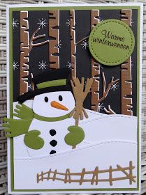 A cozy winter scene! 52 weeks to Christmas . week 2 by Scrapcard girls Company Christmas Cards, Christmas Cards 2018, Christmas Card Crafts, Retro Christmas, Kids Christmas, Handmade Christmas, Holiday Cards, Marianne Design Cards, Snowman Cards