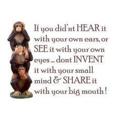 See,hear or speak no evil