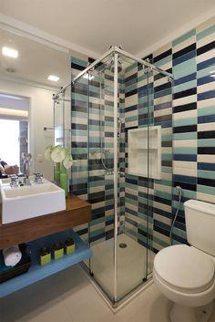 Fotos de Banheiros Eclético: Banheiro Social