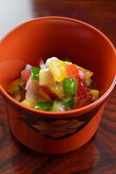 お盆料理の参考に♪夏野菜をふんだんに使った「夏野菜の宝石」