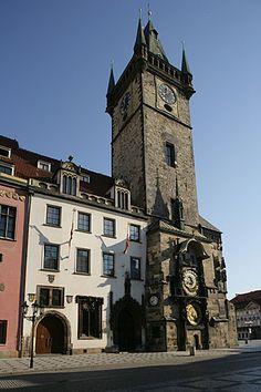 Staroměstský orloj - Královská cesta Central Europe, Notre Dame, Clocks, Poland, Germany, Country, Building, Travel, Czech Republic