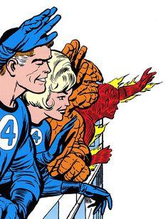 Comic Book Artists, Comic Book Characters, Comic Artist, Comic Books Art, Marvel Comics Superheroes, Marvel Dc Comics, Marvel Heroes, Fantastic Four Marvel, Mister Fantastic