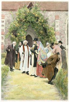 'The Christening' von Walter Dendy Sadler