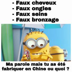 Les chinois !!! Mdr #Minions