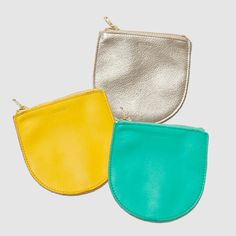 Perfect little leather pouches for holding special things
