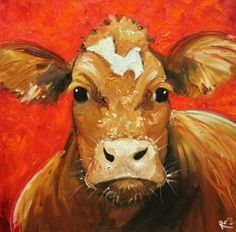 Whimsical Fine Art by Roz Pigeon, Pet Cows, Beef Cattle, Cow Painting, Cow Art, Abstract Animals, Detailed Drawings, Custom Woodworking, Illustrations