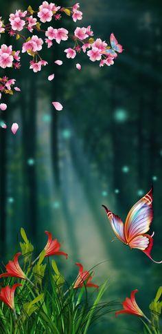 Set the wallpaper Smile Wallpaper, Flower Phone Wallpaper, Butterfly Wallpaper, Cellphone Wallpaper, Colorful Wallpaper, Iphone Wallpaper, Beautiful Flowers Wallpapers, Beautiful Nature Wallpaper, Pretty Wallpapers