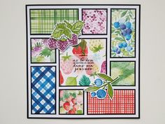 #stampin'up Le Lot, Fruit, Stampin Up, Scrapbooking, Abundance, Stamping Up, Scrapbooks, Memory Books, Scrapbook