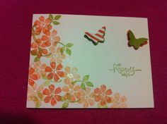 """""""Oh Happy Day"""" card"""