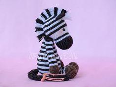 A-Z Crochet Zebra Pattern