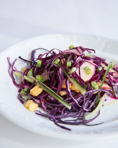Spring Cabbage Salad - From sweetpaulmag.com