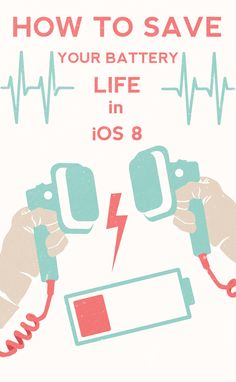 Actually helpful -- Quick and easy ways to make your iPhone and iPad batteries last longer with the new operating system. Tech Hacks, Tech Gadgets, Iphone Hacks, Iphone 5s, New Operating System, Cool Technology, Technology Quotes, Technology Updates, Ios 8
