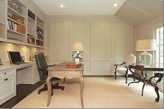 Built-ins   desk   furniture layout