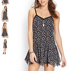 New Forever 21 Floral Cami Dress - Small