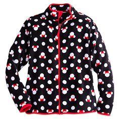 Minnie Mouse Fleece Jacket for Women | Disney Store