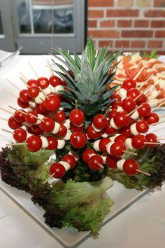 leckere #TomateMozzarella Spieße - gesehen auf einer Hochzeit in Braunschweig