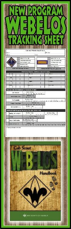 Need a way to track * WEBELOS AND ARROW OF LIGHT requirements for the NEW Cub Scout Program? This is a great free PRINTABLE Tracking sheet for Organizing. This site has other tracking sheets and a lot of great Cub Scout Ideas compliments of Akelas Council Weblos Scouts, Cub Scouts Wolf, Scout Mom, Girl Scouts, Cub Scout Games, Cub Scout Activities, Cub Scout Crafts, Arrow Of Lights, Scout Camping