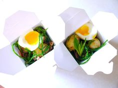 New Potatoes with Bacon, Samphire and Broad Beans - Galton Blackiston made by Kathryn Morrissey aka Tastyribbons
