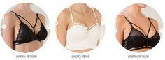 sutiã de tiras strappy bra