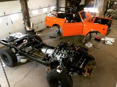 """Anything Scout on Instagram: """"Project number 2 that we're finishing up for the #overlandexpo . Time to start cracking the redbulls! just kidding, we've been chugging…"""""""