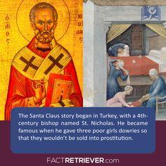 The history of Santa Claus #santaclaus #history #fact