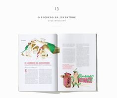 LOLA Magazine / Abril Editora by Pianofuzz , via Behance