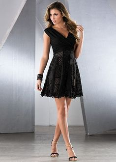 Lace skirt dress in the VENUS Line of Dresses for Women