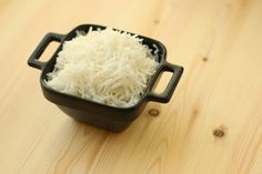 White Rice. This fluffy, aromatic steamed rice is filling and a perfect side.