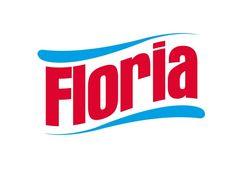 Yurtdışında temizlik ürünleri üretimi yapan  FLORIA markası için tasarladığımı logo • Logo design for FLORIA Cleaning Products #logo #logodesign #graphicdesign #floria