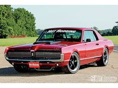 Pro Touring 1969 Mercury Cougar http://www.musclecardefinition.com/