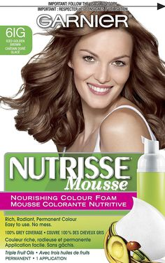 Garnier  Nutrisse Nourishing Color Foam, Iced Golden Brown -- You can get more details by clicking on the image.